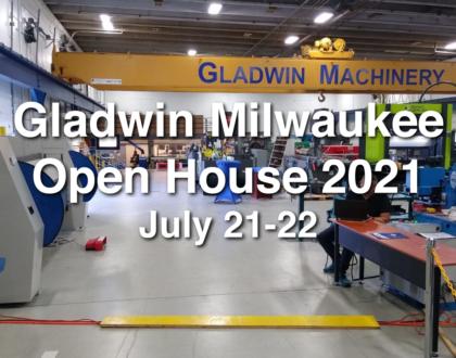 Gladwin Milwaukee Open House 2021: July 21-22, Milwaukee, WI