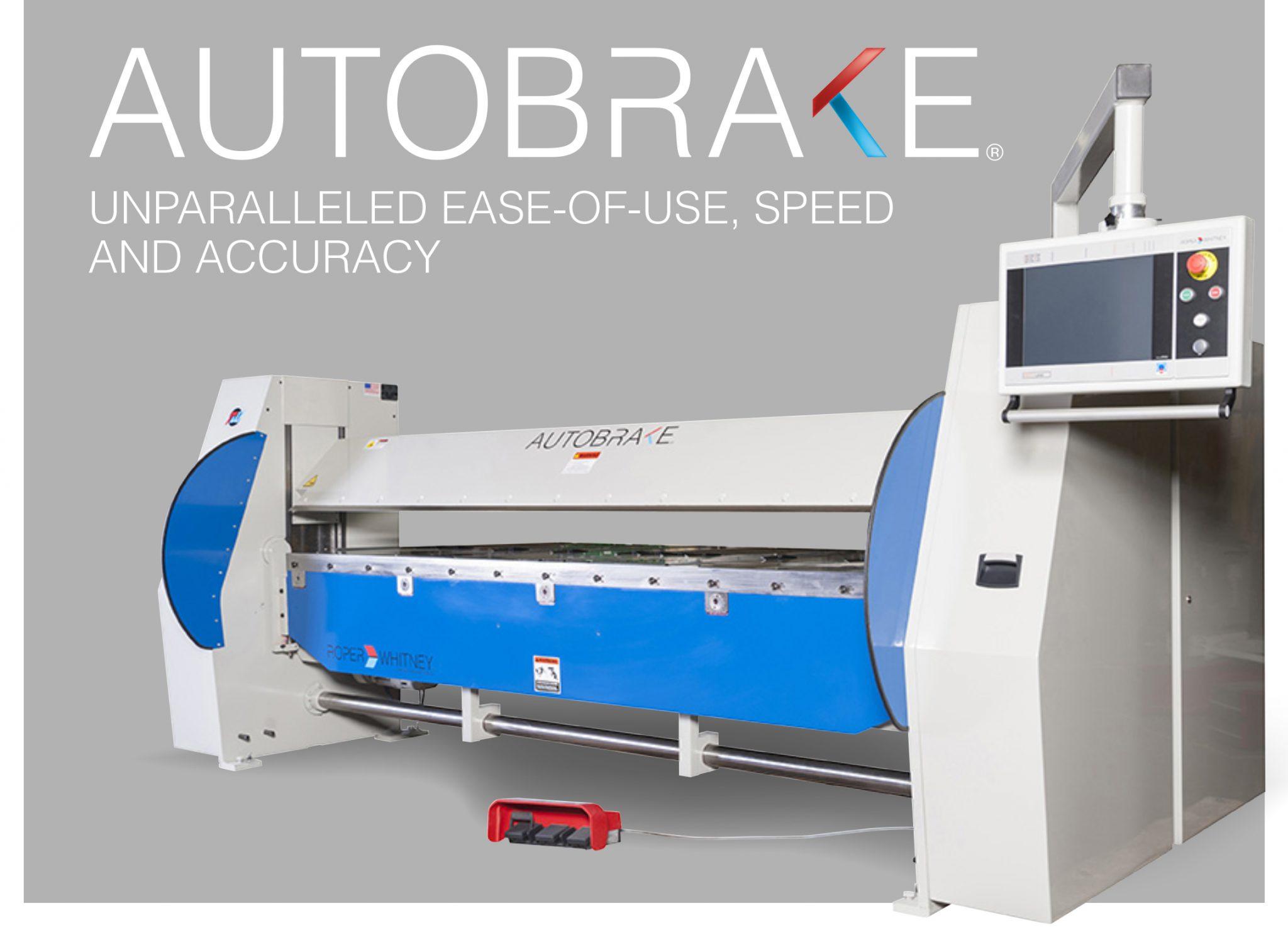 AutoBrake - Sheet Metal Brake by Roper Whitney