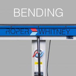 BENDING - Sheet Metal Fabrication Equipment