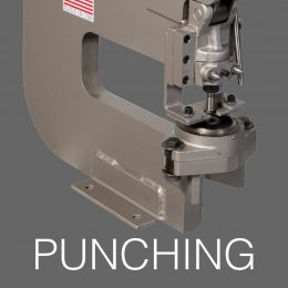 PUNCHING - Sheet Metal Fabrication Equipment