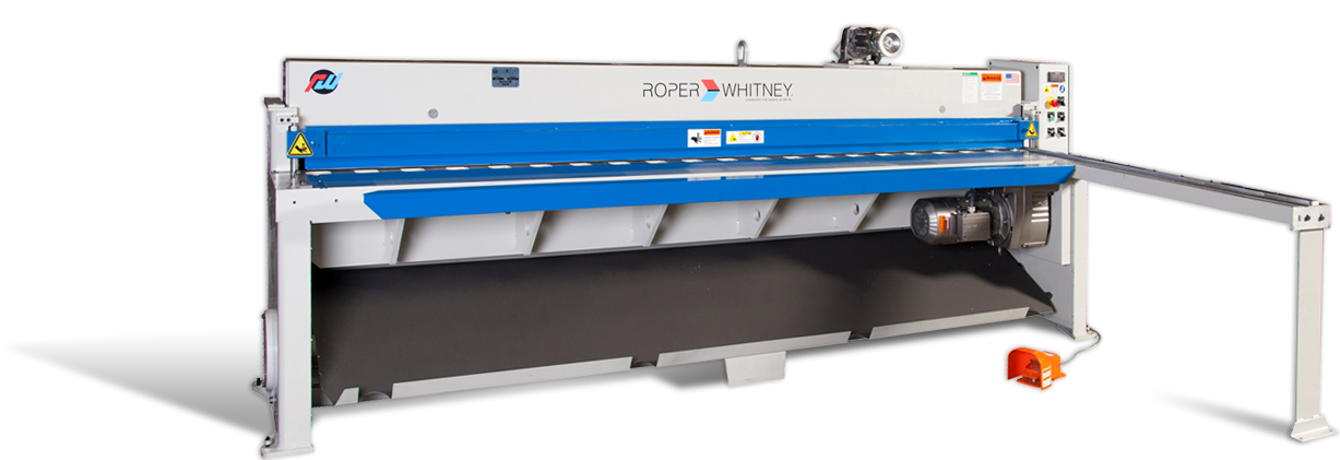 Mechanical Shears - Sheet Metal Fabrication Equipment from Roper Whitney