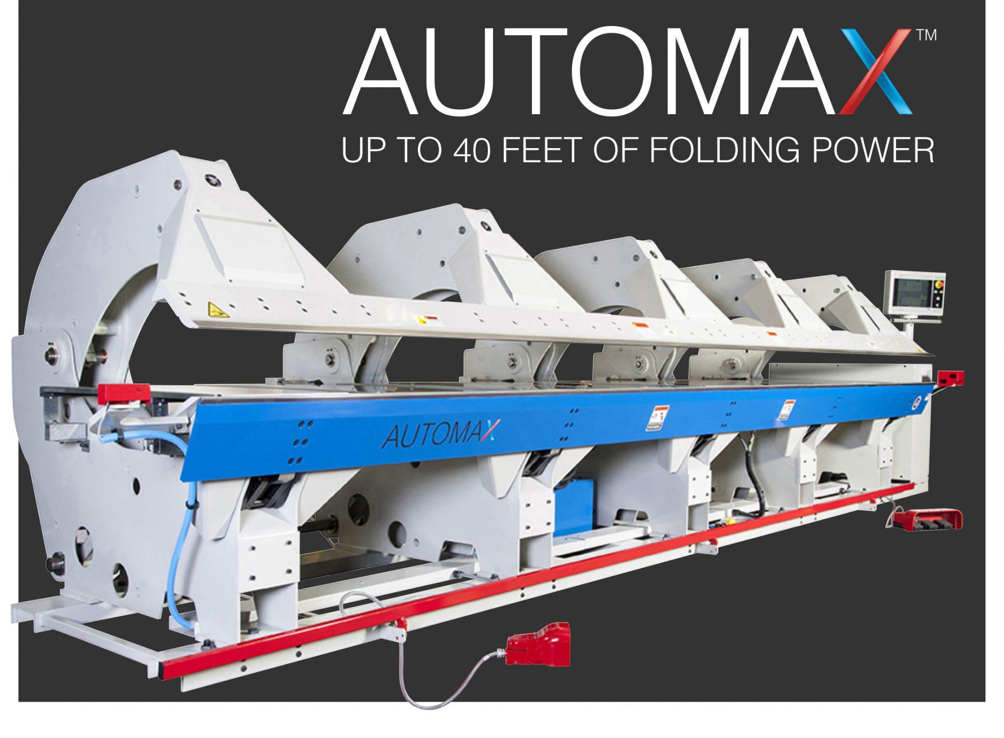 AUTOMAX - Sheet Metal Brake by Roper Whitney