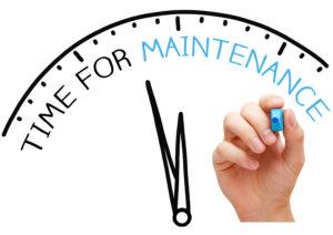RW Scheduled Maintenance