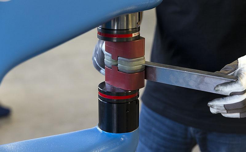 Eckold Kraftformer Kf 324 Power Hammer Shrinker Stretcher