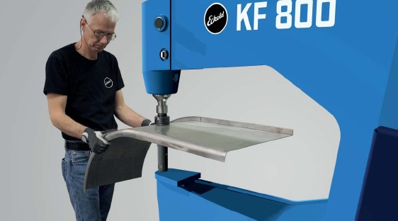 Eckold Introduces New Machine to the Kraftformer Line-up: The All-New Versatile KF 800